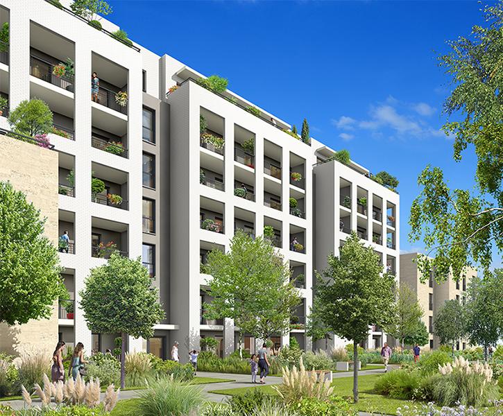 La cour s gur programme immobilier neuf bordeaux for Appartement bordeaux euratlantique